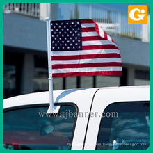 Professional polyester oem united stand car flag