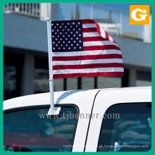 Profissional poliéster oem bandeira do carro