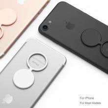 Soporte de anillo de dedo de gel de silicona para iPhones que tocan el soporte del anillo de dedo suave