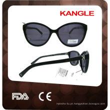 Óculos de sol de acetato customizados de tamanho grande 2017