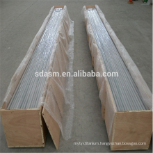 Grade5 Titanium Pipe Seamless ASTM B338 Cold Rolled Titanium Tube