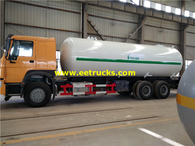 Propane Road Tank Trucks