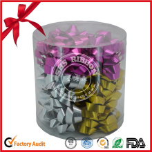 High Quality Double Faced Stain Ribbon Bow