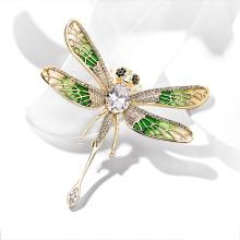DARA Dragonfly Shaped Brooch For Women