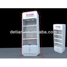 Aluminum Modular trade show display cabinet with modern design