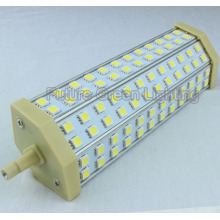 LED R7s Lampe légère, alliage d'aluminium 15W en alliage de maïs pour remplacer la lampe halogène