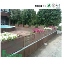 Напольный деревянный пластичный составной товарного сорта древесины WPC настил