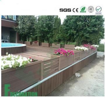 Outdoor Wood Plastic Composite Commercial Grade Wood WPC Flooring