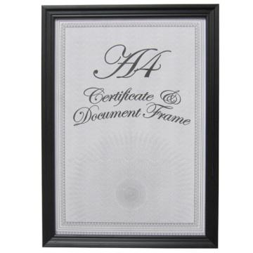 New Style classique A4 certificat cadre