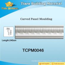 Modern pu ceiling moulding for house design with good quality