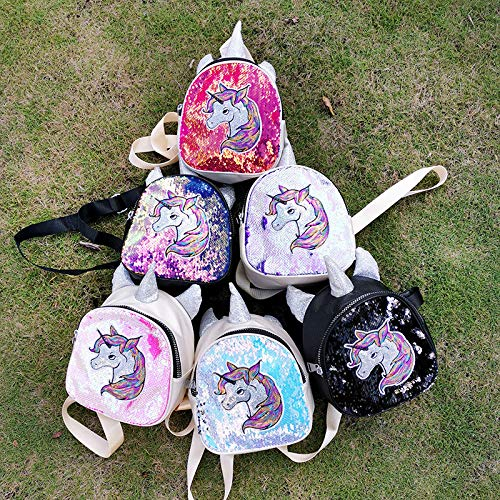 Sequin Embroidery Unicorn Set 4