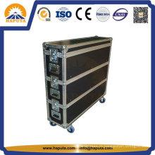 Mala de alumínio com rodas para som de palco (HF-1306)