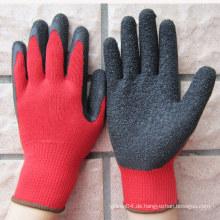 10 Gauge Latex beschichtete Handschuhe Sicherheits Arbeitshandschuh