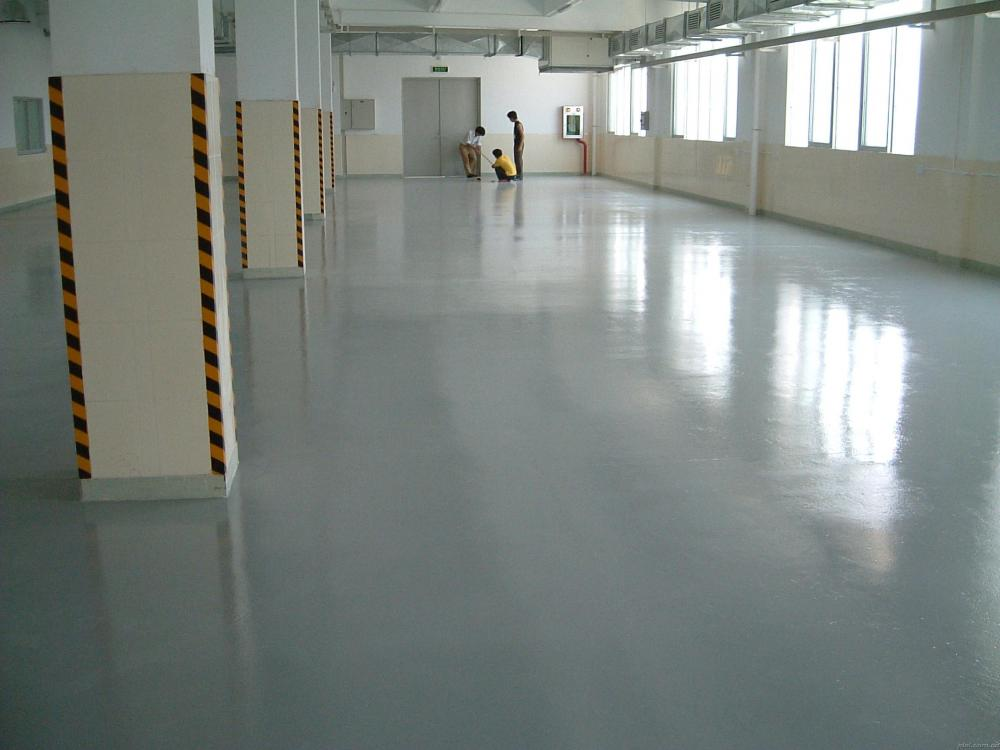 Factory Semi Matte Wear Resistant Epoxy Self Leveling