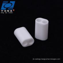 white alumina ceramic sensor insulators