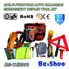 Multi-Function Auto Emergency Repair Tool Kit in 13PCS