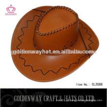 Chapéu de cowboy da folha de palmeira dos homens