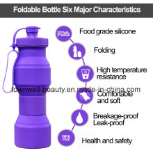 2017 Nouveau produit FDA Certified Foldable Water Bottle MOQ 1 PCS
