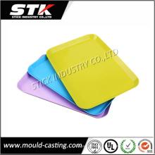 Bandejas plásticas modificadas para requisitos particulares OEM del moldeo a presión del moldeo a presión para los aparatos electrodomésticos