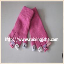 девочки милые персонажи из пяти пальцев перчатки