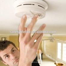 Detector de fumaça / sistema de extinguir / sms sistema de detector de fumaça sem fio