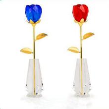 Ангельские один день святого Валентина стекло Роза цветок для подруги