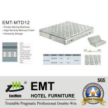 Colchón Ded del dormitorio del hotel (EMT-MT4 + T)