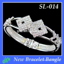 Yiwu New Fashion bangle shine O último bracelete dourado