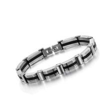 New metal saint bracelet,fastener bracelet,diy bracelet