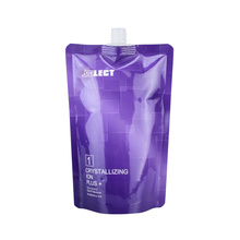 Liquid Soap Shower Cream Aluminum Foil Packaging Spout Pouch Cosmetic Bag