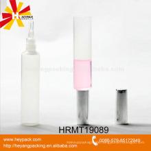 plastic silicone applicator cosmetic lip gloss tube