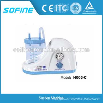 Unidad de succión dental portable eléctrica de calidad superior