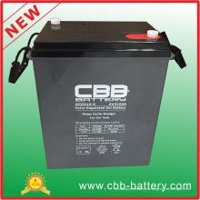 Batería recargable del ciclo profundo 6V310ah selló la batería ácida del plomo, batería de 6V SLA VRLA