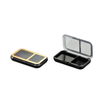 Graceful Gold Compact Powder Case