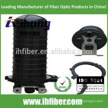 4 cable hole vertical/dome Fiber Optic Splice closure