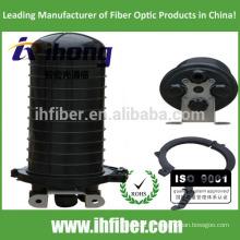 4 furos para cabos verticais / cúpula Fibra Óptica Fecho de emenda