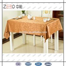 Bankett oder Party verwendet bunte billige Rechteck Jacquard Tischdecken