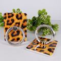Custom Fashion leopard dermatoglyphics fingerring