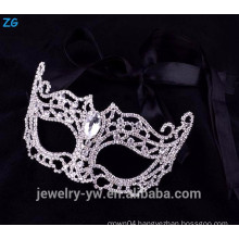 Wholesale crystal party masks, masquerade masks with stone