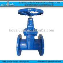 DIN Z45X-10/16 ductile iron soft sealing gate valve