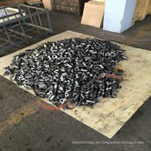 Pieza de maquinaria agrícola de fundición de fundición de acero al carbono