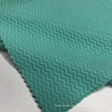 Jacquard Polyester und Spandex Stoff