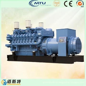 Mtu Motor 1200kVA Electric Power Generador Diesel Fabricación
