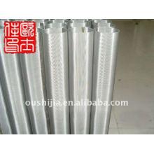 Fil de filtre à poussière en acier inoxydable et tamis filtrant et filtre à microns de 40 microns 150 microns