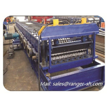 aluminum steel Corrugated tile roof roll forming machine