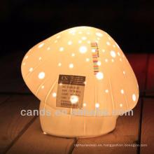 Nueva lámpara de decoración de lámpara de mesa de cerámica