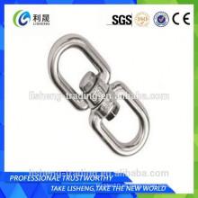 Anillo de enlace de cadena con forma de ojo de alta tensión