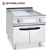 Gran capacidad Reasonal kitchen Diseño industrial Stainless Steel Plancha