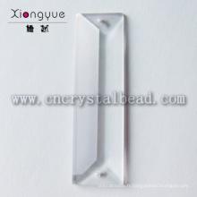 lustre en cristal 22x100mm pièces perles de prisme