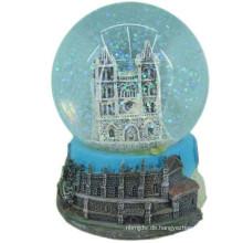 Werbeartikel OEM Design Schnee Kristallkugel